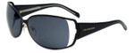 Charriol Designer Sunglasses in Black Frame & Grey Lens (PC8042-C1)