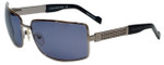 Charriol Designer Sunglasses in Gunmetal Frame & Grey Lens (PC8052-C2)