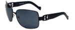 Charriol Designer Sunglasses in Black Frame & Grey Lens (PC8064-C1)