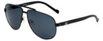Charriol Designer Sunglasses in Black Frame & Grey Lens (PC8067-C1)