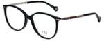 Carolina Herrera Designer Eyeglasses VHE669K-0700 in Black 53mm :: Custom Left & Right Lens