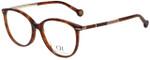 Carolina Herrera Designer Eyeglasses VHE669K-08XW in Tortoise 53mm :: Custom Left & Right Lens