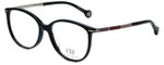 Carolina Herrera Designer Eyeglasses VHE669K-0700 in Black 53mm :: Rx Single Vision
