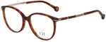 Carolina Herrera Designer Eyeglasses VHE669K-08XW in Tortoise 53mm :: Progressive