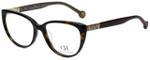 Carolina Herrera Designer Eyeglasses VHE710K-722Y in Dark Havana 53mm :: Rx Bi-Focal