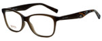Hugo Boss Designer Eyeglasses BO0216-F4S in Brown Splatter 52mm :: Custom Left & Right Lens