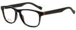Hugo Boss Designer Eyeglasses BO0180-K8B in Havana Military Green 53mm :: Rx Single Vision