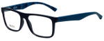 Hugo Boss Designer Eyeglasses BO0254-Q8Q in Matte Blue 54mm :: Rx Single Vision