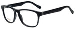 Hugo Boss Designer Eyeglasses BO0180-KUN in Matte Black 53mm :: Progressive