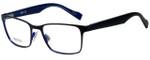 Hugo Boss Designer Eyeglasses BO0183-JOD in Black Blue 51mm :: Progressive