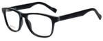 Hugo Boss Designer Eyeglasses BO0180-KUN in Matte Black 53mm :: Rx Bi-Focal