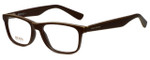 Hugo Boss Designer Eyeglasses BO0217-9FU in Distressed Brown 52mm :: Rx Bi-Focal