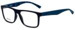 Hugo Boss Designer Eyeglasses BO0254-Q8Q in Matte Blue 54mm :: Rx Bi-Focal