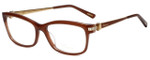 Chopard Designer Eyeglasses VCH139S-08YL in Brown 55mm :: Custom Left & Right Lens