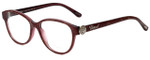 Chopard Designer Eyeglasses VCH160S-0AEG in Plum Lace 53mm :: Custom Left & Right Lens