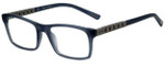 Chopard Designer Eyeglasses VCH162-4ALM in Dark Grey Transparent 54mm :: Custom Left & Right Lens