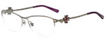 Chopard Designer Eyeglasses VCHA69S-579 in  Shiny Palladium Silver 55mm :: Rx Single Vision