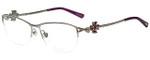Chopard Designer Eyeglasses VCHA69S-579 in Shiny Palladium Silver 55mm :: Rx Single Vision