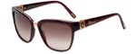 Chopard Designer Sunglasses SCH210S-09ZB in Pearl Burgundy with Rose Gradient Lens