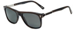 Chopard Designer Polarized Sunglasses SCH219-G62P in Shiny Dark Horn with Grey Lens