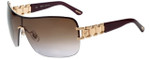 Chopard Designer Sunglasses SCHA62S-08FC in Shiny Copper Gold with Brown Gradient Lens