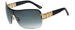 Chopard Designer Sunglasses SCHA62S-300F in Black with Grey Gradient Lens