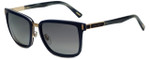 Chopard Designer Polarized Sunglasses SCHB84-D82P in Blue with Grey Lens
