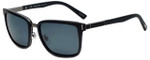 Chopard Designer Polarized Sunglasses SCHB84-U28P in Shiny Matte Black with Grey Lens