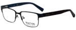 Kenneth Cole Designer Eyeglasses Reaction KC0795-002 in Matte Black 53mm :: Custom Left & Right Lens