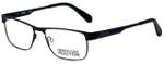 Kenneth Cole Designer Eyeglasses Reaction KC0779-002 in Matte Black 54mm :: Progressive