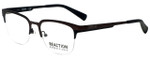Kenneth Cole Designer Eyeglasses Reaction KC0791-009 in Matte Gunmetal 50mm :: Progressive