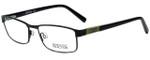 Kenneth Cole Designer Reading Glasses Reaction KC0752-002 in Matte Black 54mm