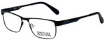 Kenneth Cole Designer Reading Glasses Reaction KC0779-002 in Matte Black 54mm