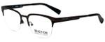 Kenneth Cole Designer Reading Glasses Reaction KC0791-009 in Matte Gunmetal 50mm