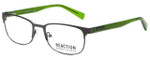 Kenneth Cole Designer Reading Glasses Reaction KC0801-009 in Matte Gunmetal 53mm