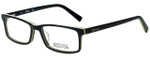 Kenneth Cole Designer Eyeglasses Reaction KC0749-005 in Black 54mm :: Custom Left & Right Lens