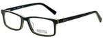 Kenneth Cole Designer Eyeglasses Reaction KC0749-005 in Black 54mm :: Progressive