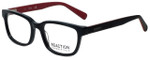 Kenneth Cole Designer Reading Glasses Reaction KC0794-001 in Shiny Black 52mm