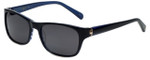 Argyleculture Tatum Designer Sunglasses in Black with Grey Lens