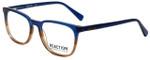 Kenneth Cole Designer Eyeglasses Reaction KC0799-092 in Blue Fade 52mm :: Progressive
