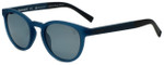 Timberland TB9128-91D Designer Polarized Sunglasses in Matte Blue with Grey Lens