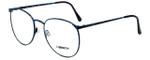Liberty Optical Designer Eyeglasses LA-4C-4-55 in Blue Marble 55mm :: Custom Left & Right Lens