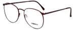 Liberty Optical Designer Eyeglasses LA-4C-7 in Antique Red 57mm :: Progressive