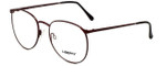 Liberty Optical Designer Reading Glasses LA-4C-1 in Brown Marble 55mm