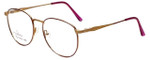 Linda Evans Designer Eyeglasses LE-169 in Burgundy 53mm :: Custom Left & Right Lens