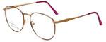 Linda Evans Designer Eyeglasses LE-169 in Burgundy 53mm :: Progressive