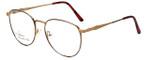 Linda Evans Designer Eyeglasses LE-169 in Demi Amber 53mm :: Rx Bi-Focal