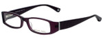 Michael Kors Designer Eyeglasses MK232-505 in Plum 50mm :: Progressive