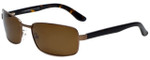 Chesterfield Collie Designer Polarized Sunglasses in Bronze with Brown Lens
