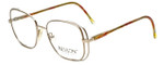 Revlon Designer Eyeglasses 1004 in Satin Gold 54mm :: Custom Left & Right Lens